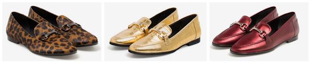 mocasines loafers Uterquë estilo Gucci