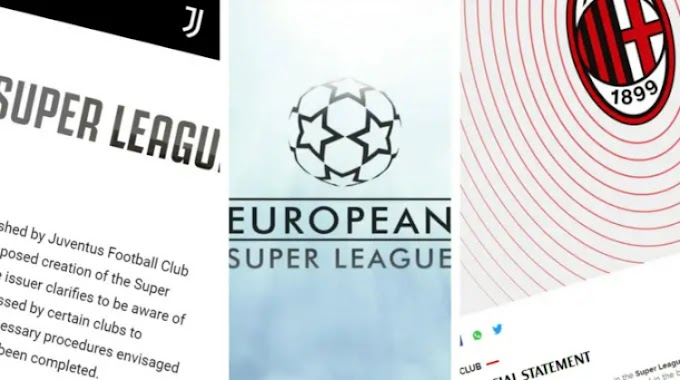 Official: Juventus and AC Milan withdraw from Super League