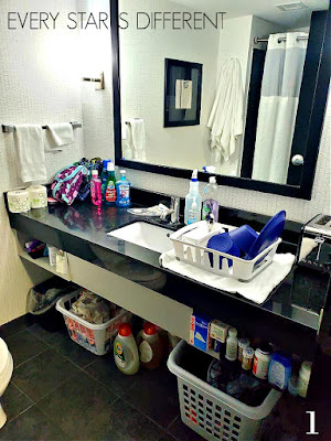 Hotel Living: Kitchen/Bathroom/Laundry Room
