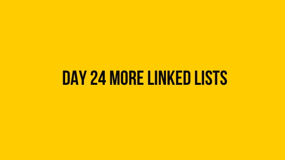 HackerRank Day 24 More Linked Lists 30 days of code solution