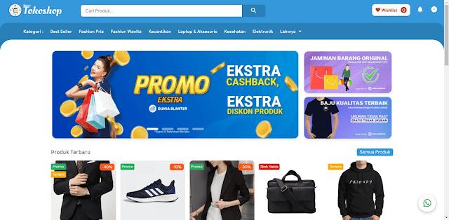 Free Download Blanter Tokoshop - Template Shopping Online