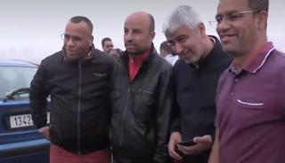 الأستاذ بوجمعة يعانق الحرية