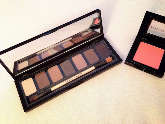 Bobbi Brown: Rich Chocolate Eye Palette + Pink Coral Blush