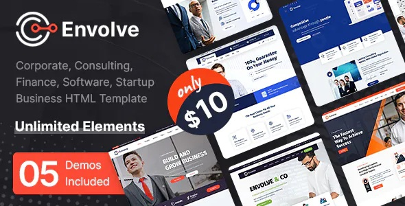 Best Multipurpose Business HTML Template