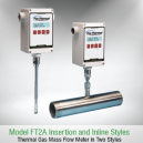 Fox FT2A Thermal Mass Gas Flow Meter