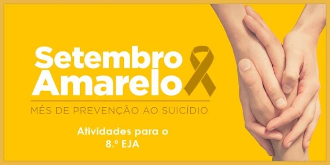 Prevenção do Suicídio: Setembro Amarelo - Atividades de Artes para o 8.º EJA