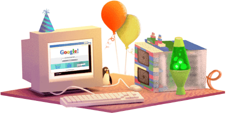 ذكرى تأسيس شركة قوقل Google