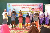 Bupati Sukandar Dampingi Anggota DPR RI Hj. Saniatul Lativa di Hari Anak Nasional