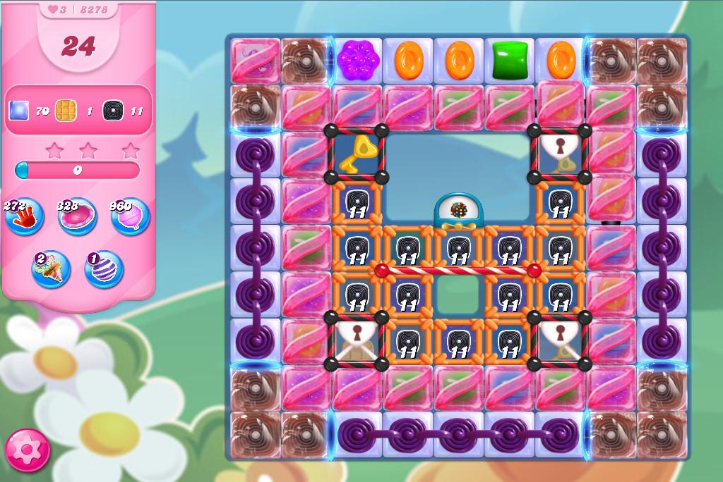 Candy Crush Saga level 8278