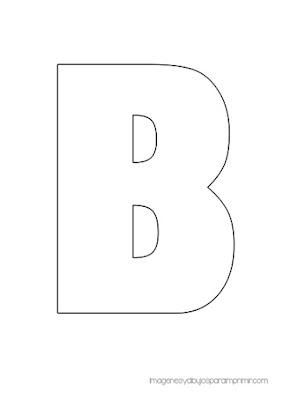 Letras mayúsculas para imprimir