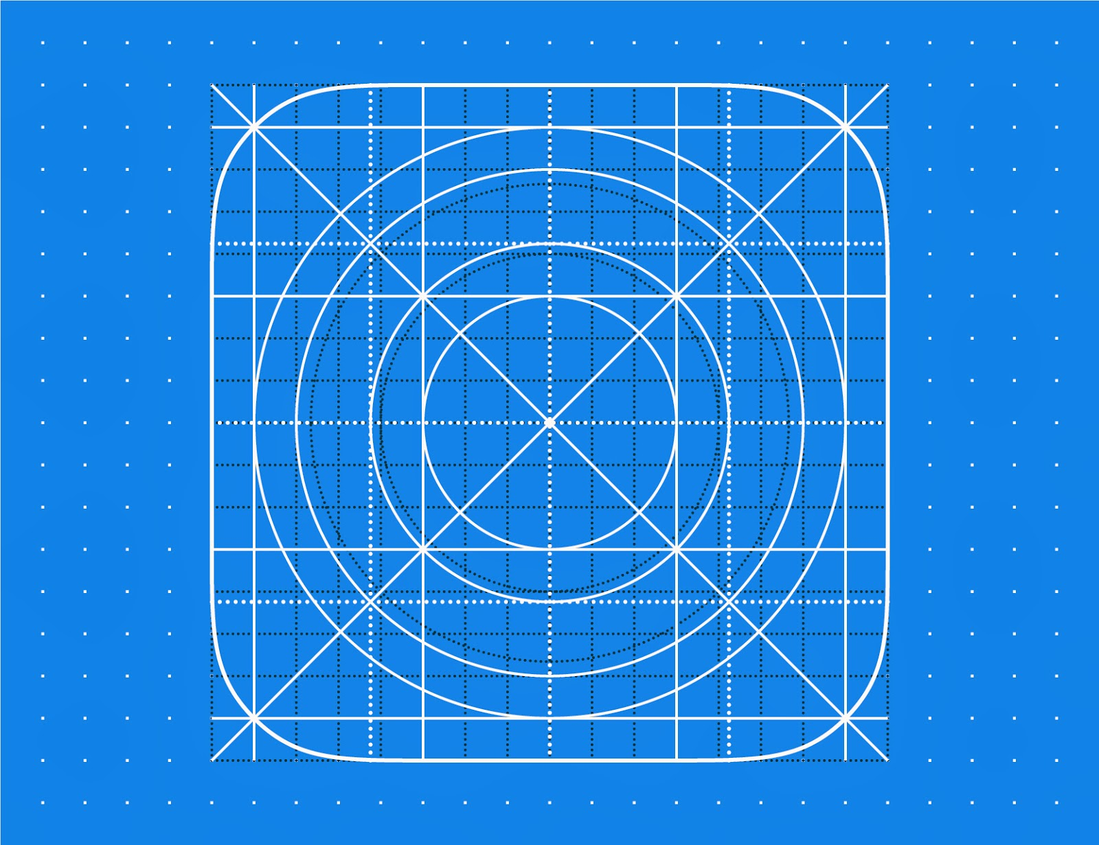 Download FREE EPS Design Graphic Art Vector Illustration: Get Freebies iOS 9 (iOS9), iOS 8 (iOS8) and iOS 7 (iOS7) Icon Grid Template. Vector illustration clip-art element for design saved in 8 eps