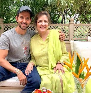 Sunaina Roshan with hrithik roshan