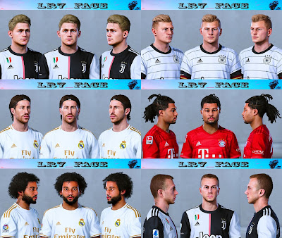 PES 2020 Facepack V1 by LR7