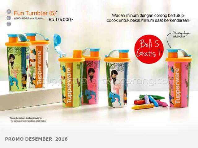 Fun Tumbler Promo Tupperware Desember 2016