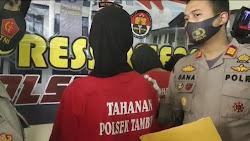Tiga Pelaku Kekerasan Dengan Sajam Berhasil Ditangkap Tim cobra Dan Reskrim Polsek Tambun