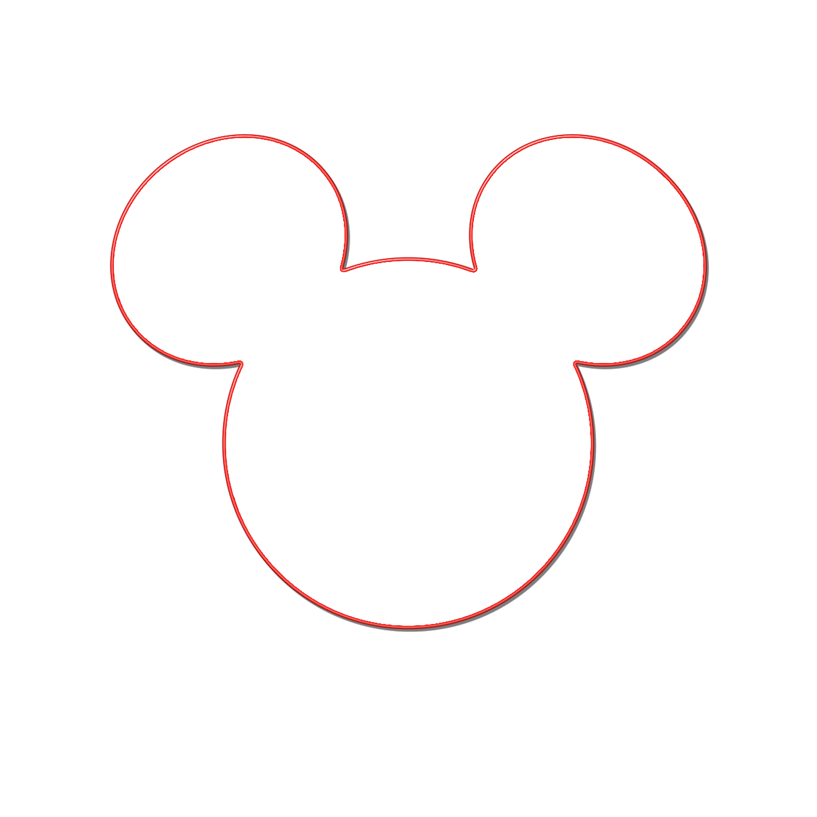 Milliepie's Musings: Making your own Mickey Head