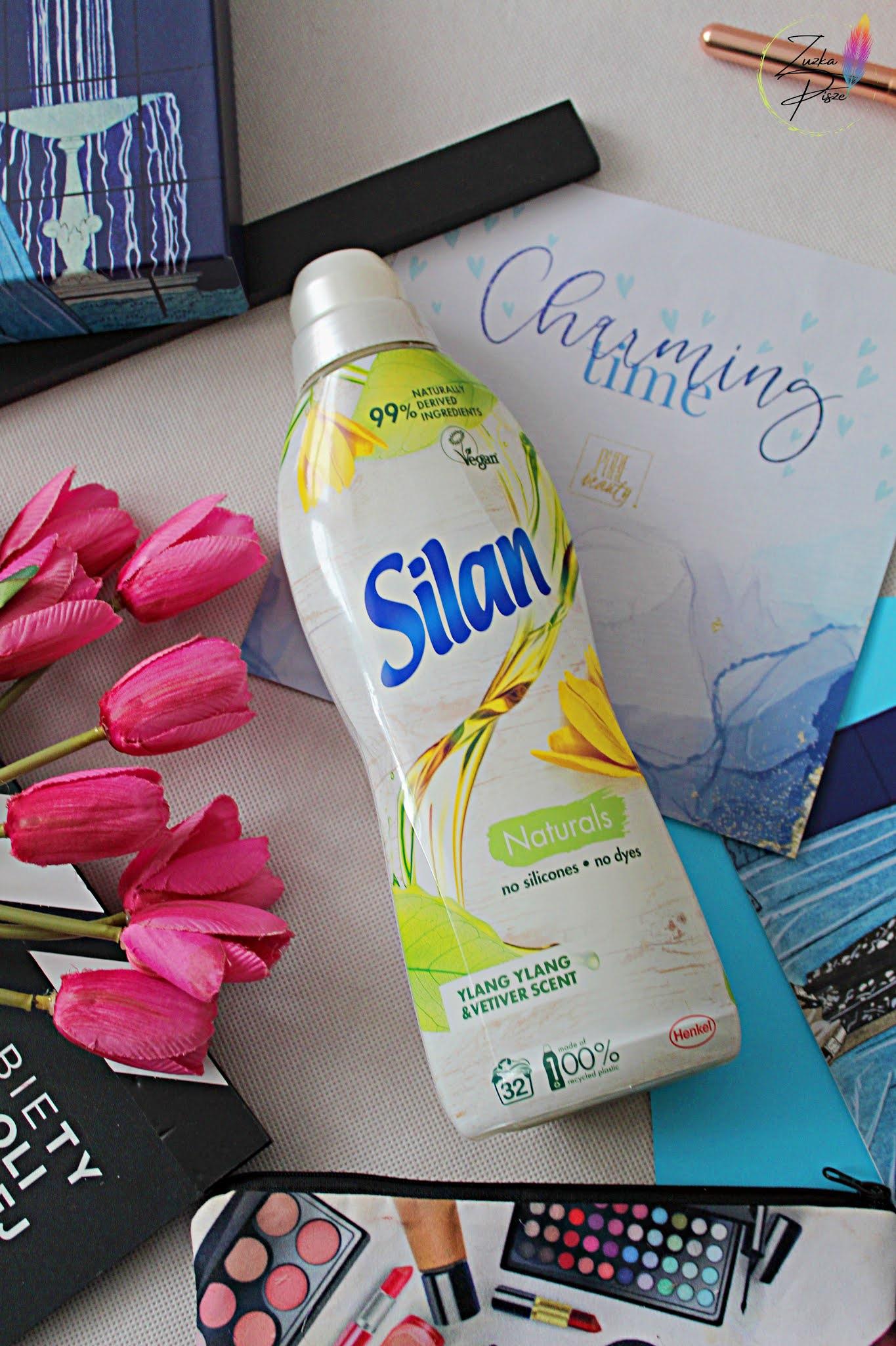 Silan Naturals Płyn do płukania tkanin Ylang Yland & Vetiver