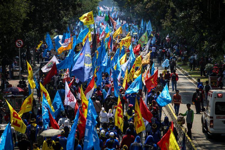 Serentak Aksi Demo di Seluruh Indonesia Hari Ini, Berikut Sederet Tuntutan Buruh