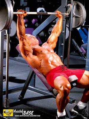 تمارين عضلات الصدر جاى كتلر