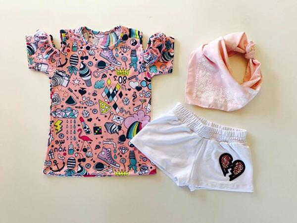 Remeras primavera verano 2018 moda para niñas.