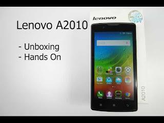 Cara Flash Lenovo A2010 Terbaru via SP Flashtool