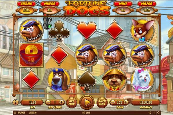 Main Gratis Slot Indonesia - Fortune Dogs Habanero