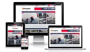 Free Magma Premium Blogger Template