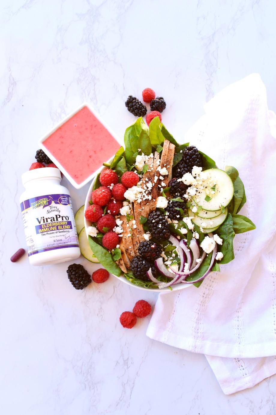 Raspberry Chicken Salad