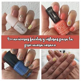 4 manicuras fáciles y vistosas para la primavera-verano