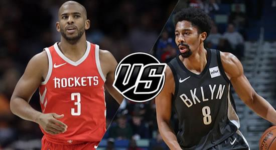 Live Streaming List: Houston Rockets vs Brooklyn Nets 2018-2019 NBA Season