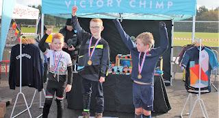 Belfast city bmx club Ewan Ewart wins Mallusk Cyclocross