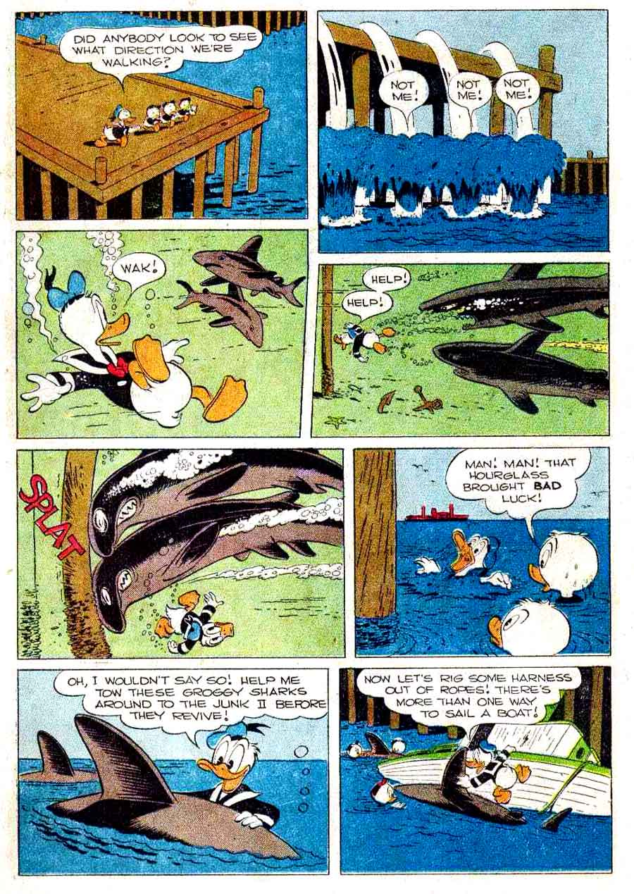 Donald Duck / Four Color Comics v2 #291 - Carl Barks 1940s comic book page art