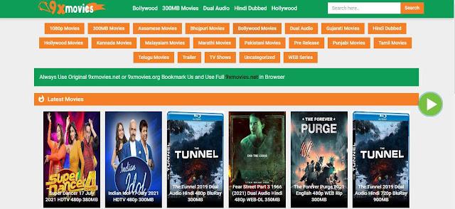 9xmovies Hindi Movies Website