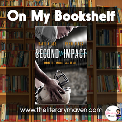 "Second Impact by David and Perri Klass follows senior football star Jerry Downing as he navigates his ""second chance."" His mistakes and his chances to do things differently were always on his mind, which I think sets a great example for less than perfect teens. Read on for more of my review and ideas for classroom application."