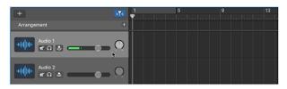 Garageband Audio Editor