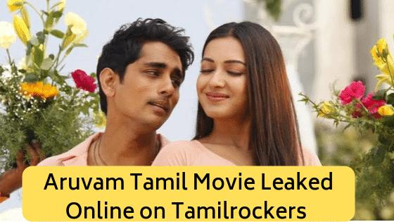 Aruvam Tamil Movie Leaked Online on Tamilrockers 2019