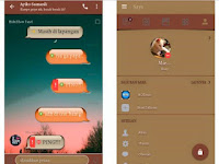 Download BBM MOD Chat Me - Born To Brown v3.3.4.48 APK Unclone Terbaru for Android Gratis