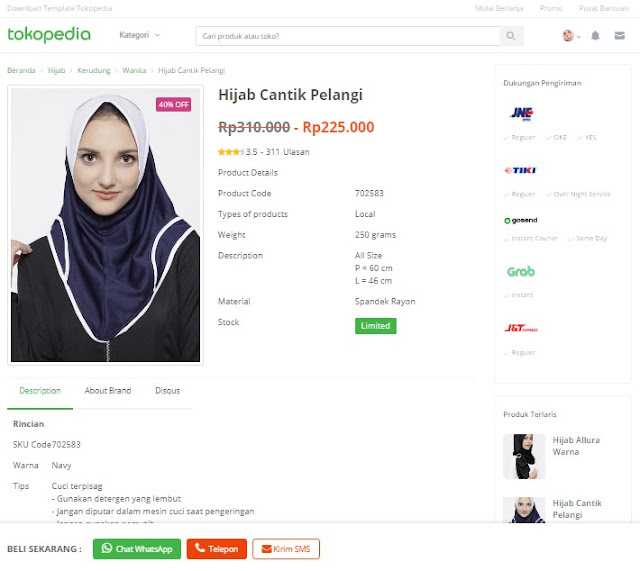 TokoPedia Blogger