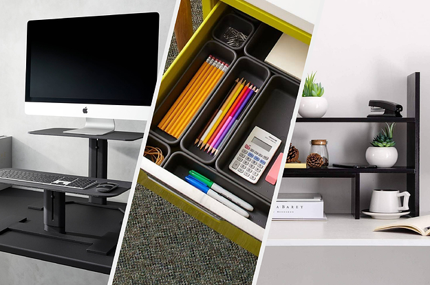 26 Small Tips To Make Your Home Office Look So Much Better
