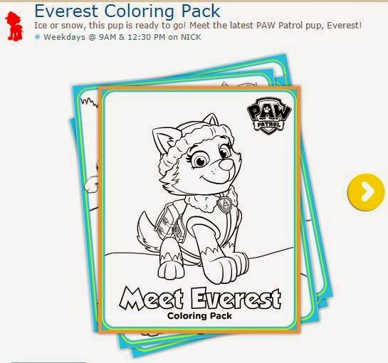 Paw Patrol o Patrulla Canina: Imágenes de Everest para Imprimir Gratis, para Colorear.