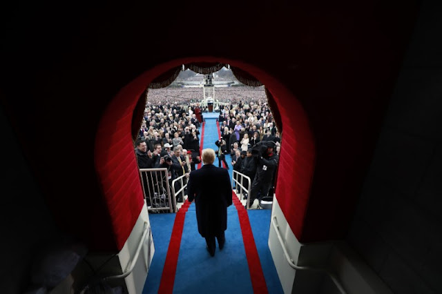 Image Attribute: Donald J. Trump arrives at the inauguration ceremonies swearing him in as the 45th president of the United States at the United States Capitol in Washington, D.C., January 20, 2017. REUTERS/Doug Mills/Pool