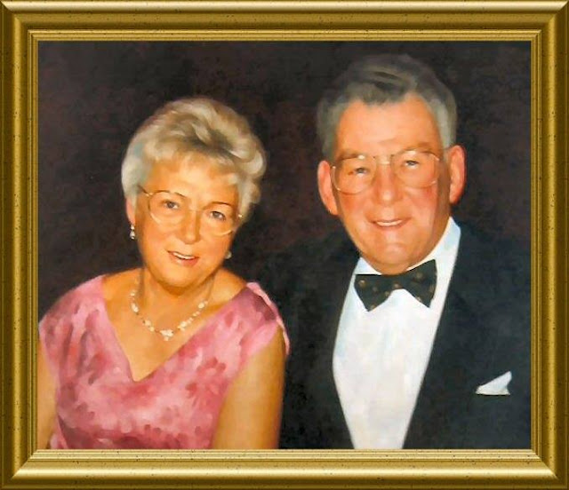 Portraits in oil hand painted on canvas by Artist John Allsopp