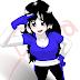 Joven deportista en estilo manga
