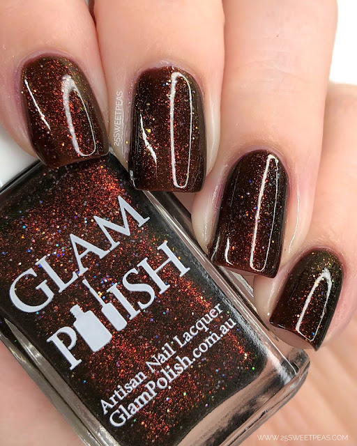 Glam Polish Shadows of Endor 25 Sweetpeas