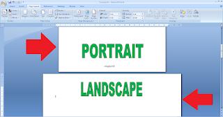 Cara Membuat Dua Bentuk Halaman di Microsoft Word