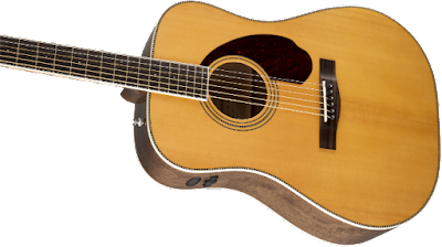 dan Guitar Fender PM-1 Standard Dreadnought, Natural