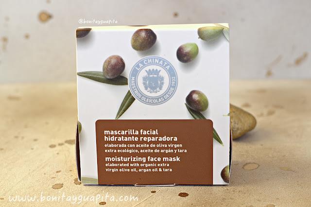 mascarilla aceite de oliva la chinata