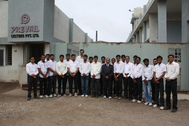 Group Photograph of the company staff and management