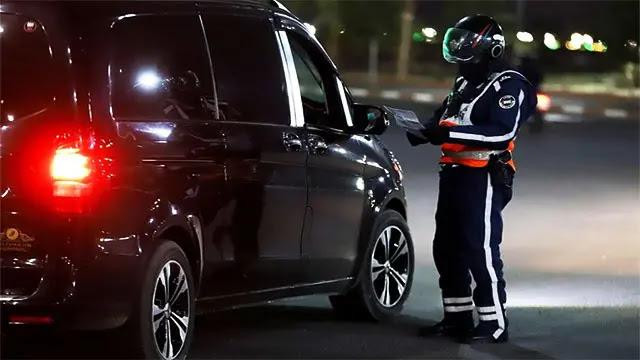 طنجة...إصابة شرطي بمنطقة مراقبة والسائق يفر هاربا