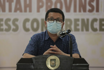Ruang Perawatan Pasien Positif Covid-19 Riau Hanya Terisi 30 Persen